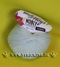 50g Woolly Hugs Nobly Soft Green #65