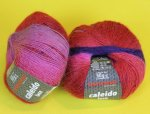 50g Austermann Caleido Lace Beere #110
