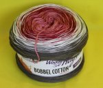 200g Woolly Hugs Bobbel Cotton tabak rose #20