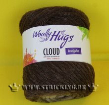 100g Woolly Hugs Cloud brauntöne #184