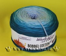 200g Woolly Hugs Bobbel Cotton turkis #23