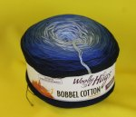 200g Woolly Hugs Bobbel Cotton dunkelblau #24