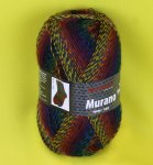 100g Murano not only for Socks Austermann juwel #1130