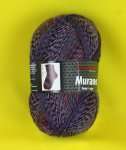 100g Murano not only for Socks Austermann waldbeere #1132
