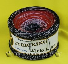 STRICKING Bobbel Loop + Spot Wickelchen #018