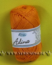 50g Rellana Adina Baumwollgarn orange #23