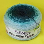 200g Woolly Hugs Bobbel Cotton grün #28