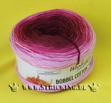 200g Woolly Hugs Bobbel Cotton rosa-brombeer #31