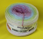 200g Woolly Hugs Bobbel Cotton soft bunt #32