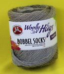 100g Woolly Hugs Bobbel Socks taupe #250