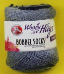 100g Woolly Hugs Bobbel Socks blau #252
