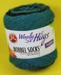 100g Woolly Hugs Bobbel Socks grün #253