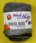 100g Woolly Hugs Bobbel Socks grau #254