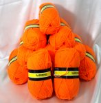 480g Sheepjes Yasmina orange #1165