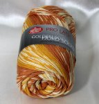 100g Golden Socks Fjord Pro Lana orange #182