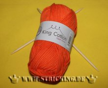 50g uni orange King Cotton