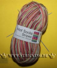 100g kunterbunt Hot Socks stripes #604