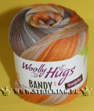 100g Woolly Hugs Bandy Color Braun #02