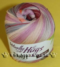 100g Woolly Hugs Bandy Color Rosa Braun #03
