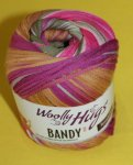 100g Woolly Hugs Bandy Color Pink Bunt #04