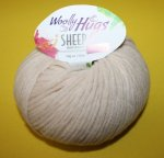 50g Woolly Hugs Sheep Creme #05