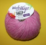 50g Woolly Hugs Sheep Pink #37