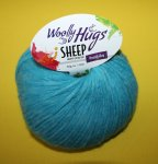 50g Woolly Hugs Sheep Türkis #65