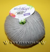 50g Woolly Hugs Sheep Hellgrau #90