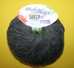 50g Woolly Hugs Sheep Dunkelgrau #98