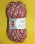 100g rot grün multicolor Hot Socks Rubin #05