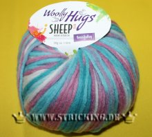 50g Woolly Hugs Sheep Color Türkis Mix #81