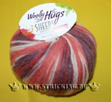 50g Woolly Hugs Sheep Color Beere Mix #82
