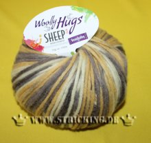 50g Woolly Hugs Sheep Color Gelb Mix #85