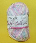 25g Pro Lana Baby milk COLOR rosa bunt mix #141