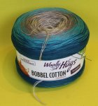 200g Woolly Hugs Bobbel Cotton mint #10