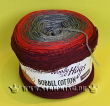 200g Woolly Hugs Bobbel Cotton rot #04